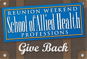 Image: Give back to the school of Allied Health Professions